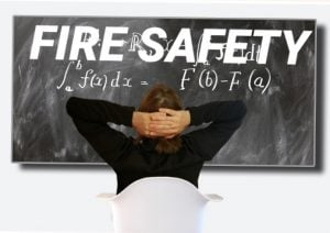 Student fire safety week